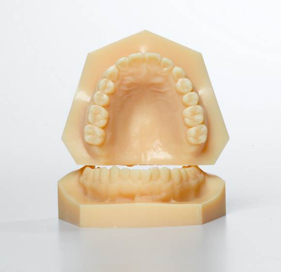 how to make a 3d model of teeth