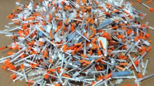 needles hiv health