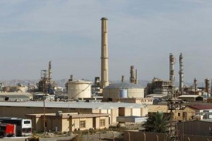 A view is seen of Baiji oil refinery