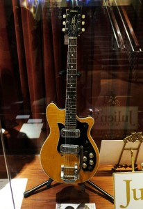 Guitar On Display