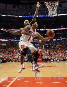 NBA: Playoffs-Cleveland Cavaliers at Chicago Bulls