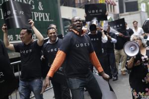 NYC Taxis Regulating Uber