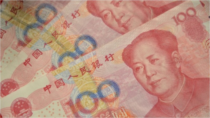Is the chinese renminbi undervalued