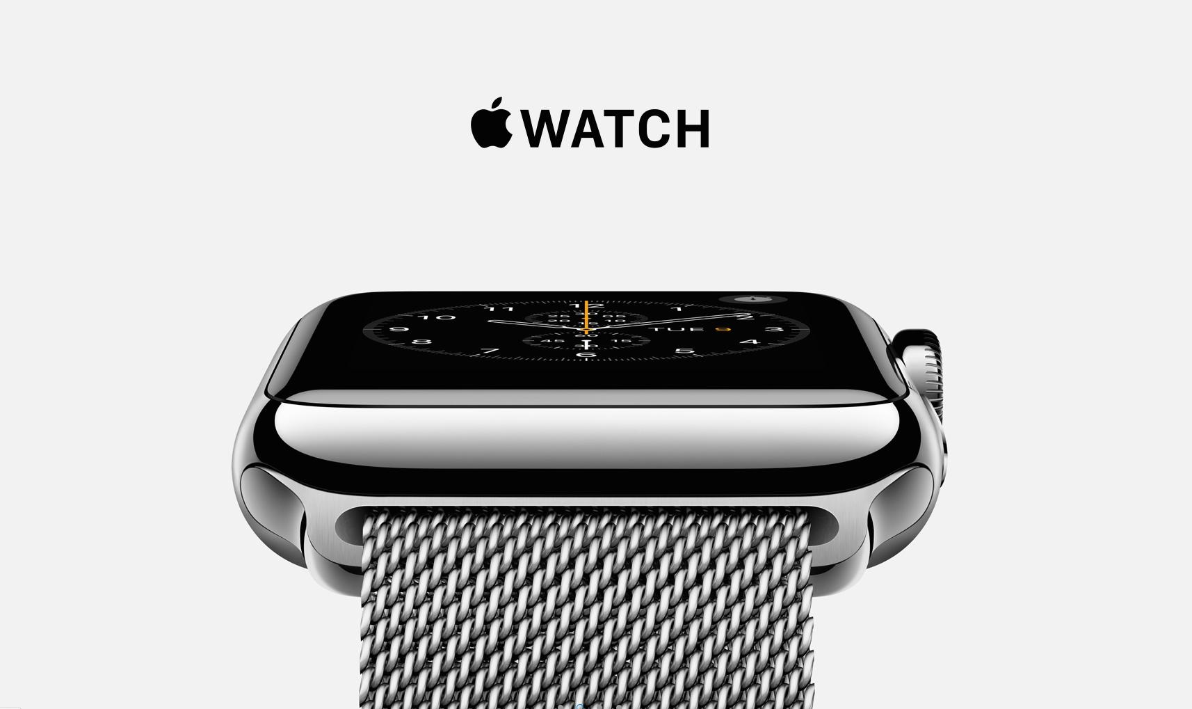 سهم اپل واچ از بازار جهانی اسمارت واچ ها در سه ماه دوم  سال 2015 ، 75 درصد است