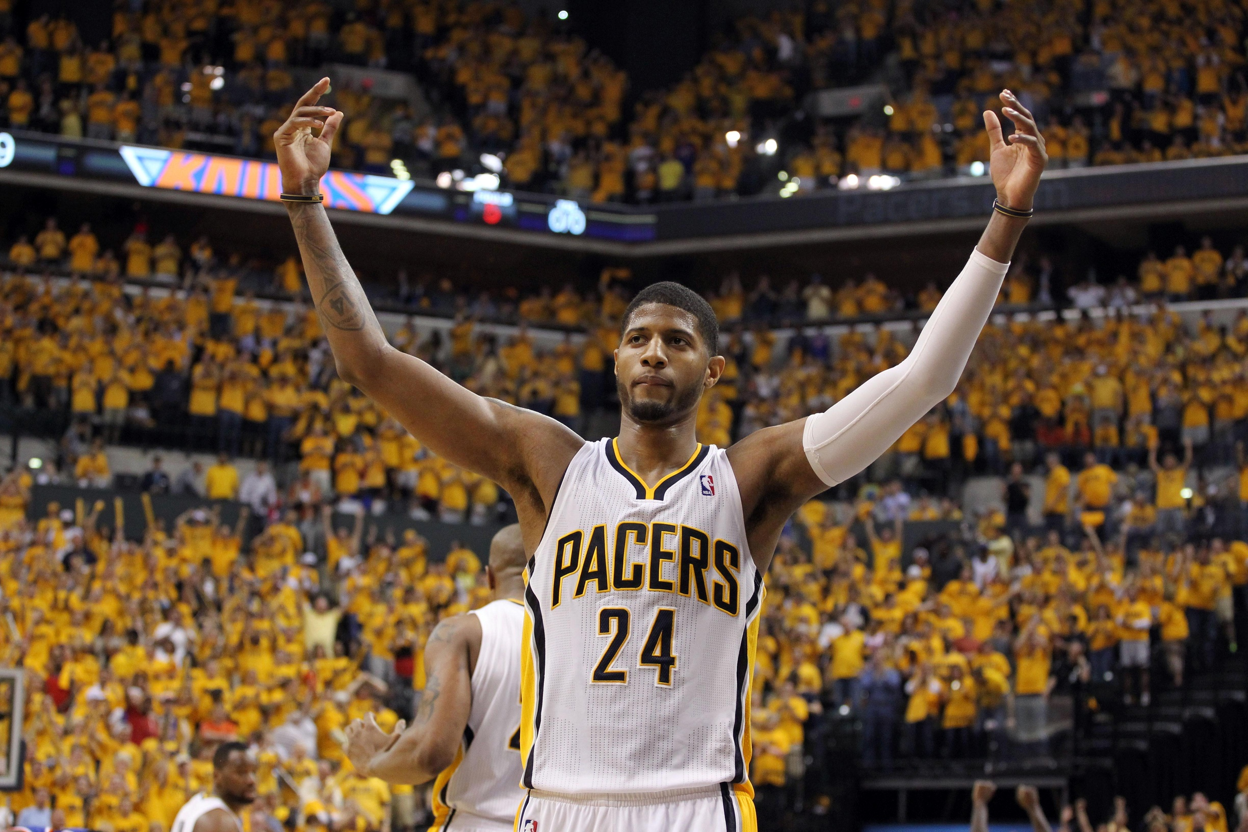 Pacers Want Paul George At Power Forward - Gazette Review