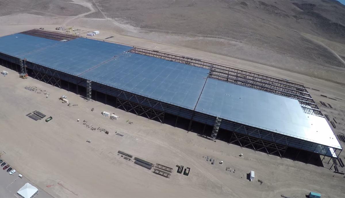 The Latest On Tesla Motors Inc Nasdaq Tsla Gigafactory