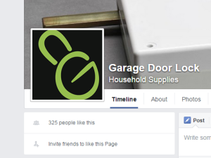 Few likes on Facebook