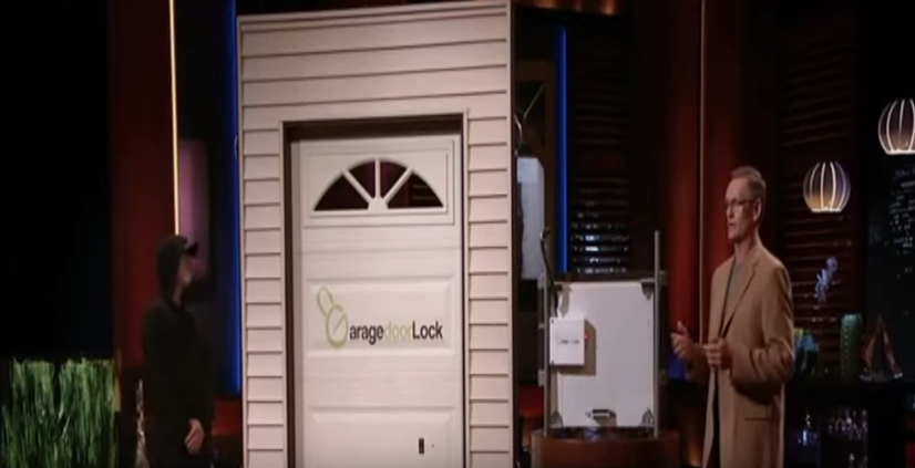 garage door lockThe Garage Door Lock Update  See What Happened After Shark Tank