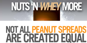 Nuts n More, the healthy peanut butter