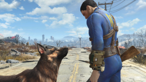 Screenshot of Fallout 4 Trailer