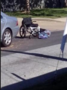 man dead wheelchair