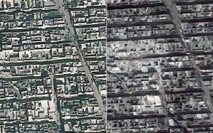 Aleppo Satellite Images
