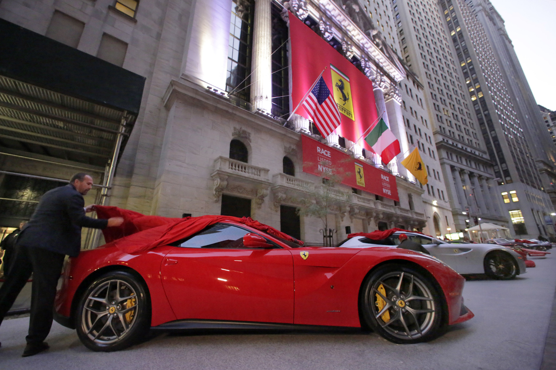 Wall street ferrari nv nyserace goes public the gazette review ferrari nv nyserace raced onto the new york stock exchange earlier today and its shares that go by the stock ticker race spiked 15 percent in their biocorpaavc