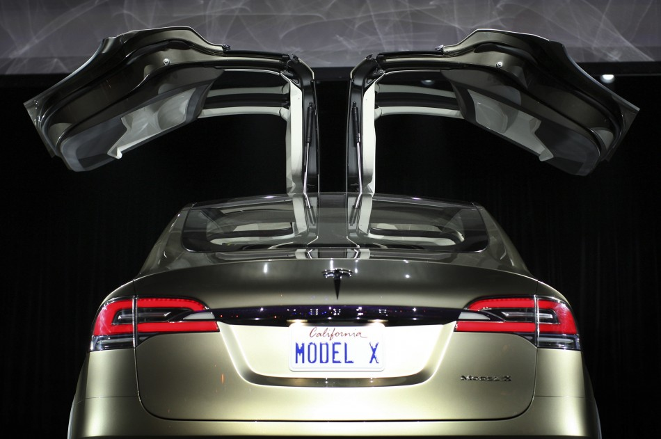 Gazette review tesla motors inc nasdaq tsla model x is for Shark tank motorized vehicle suit update