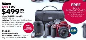 2015-black-friday-Nikon-D3300