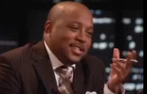 Daymond's reaction to the comparison