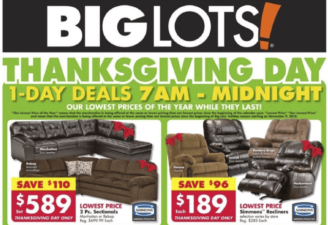 big lots black friday deals full ad scan gazette review. Black Bedroom Furniture Sets. Home Design Ideas