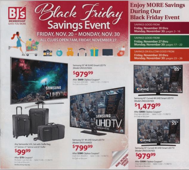 Pleasing Bjs Wholesale Club Black Friday Deals Full Ad List Evergreenethics Interior Chair Design Evergreenethicsorg