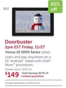 Best Black Friday Tablet & iPad Deals in 2015