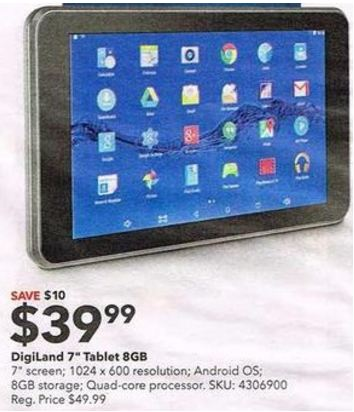 Great deals on tablets uk
