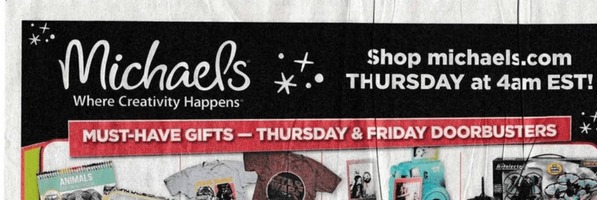Black Friday At Michaels Craft Stores