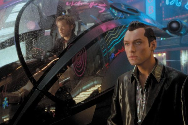 Jude Law (right) in A.I.