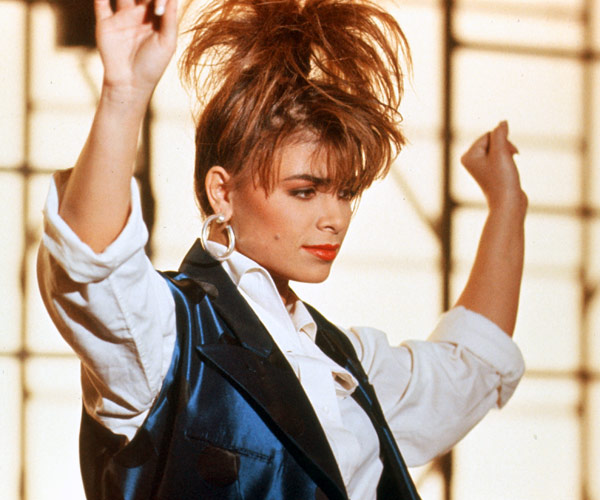 Paula Abdul in one of her many music videos
