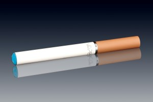 A cig-alike style. Notice how it's dangerously similar to the real thing? Minus the glowing end