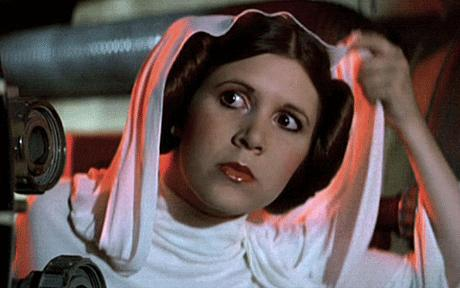 A New Hope highlighted Carrie's snarky, not sexy, side