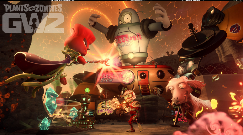 """Plants vs. Zombies Garden Warfare 2"" Beta"