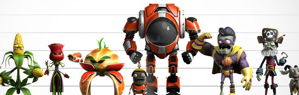 """Plants vs. Zombies Garden Warfare 2"" Beta characters"