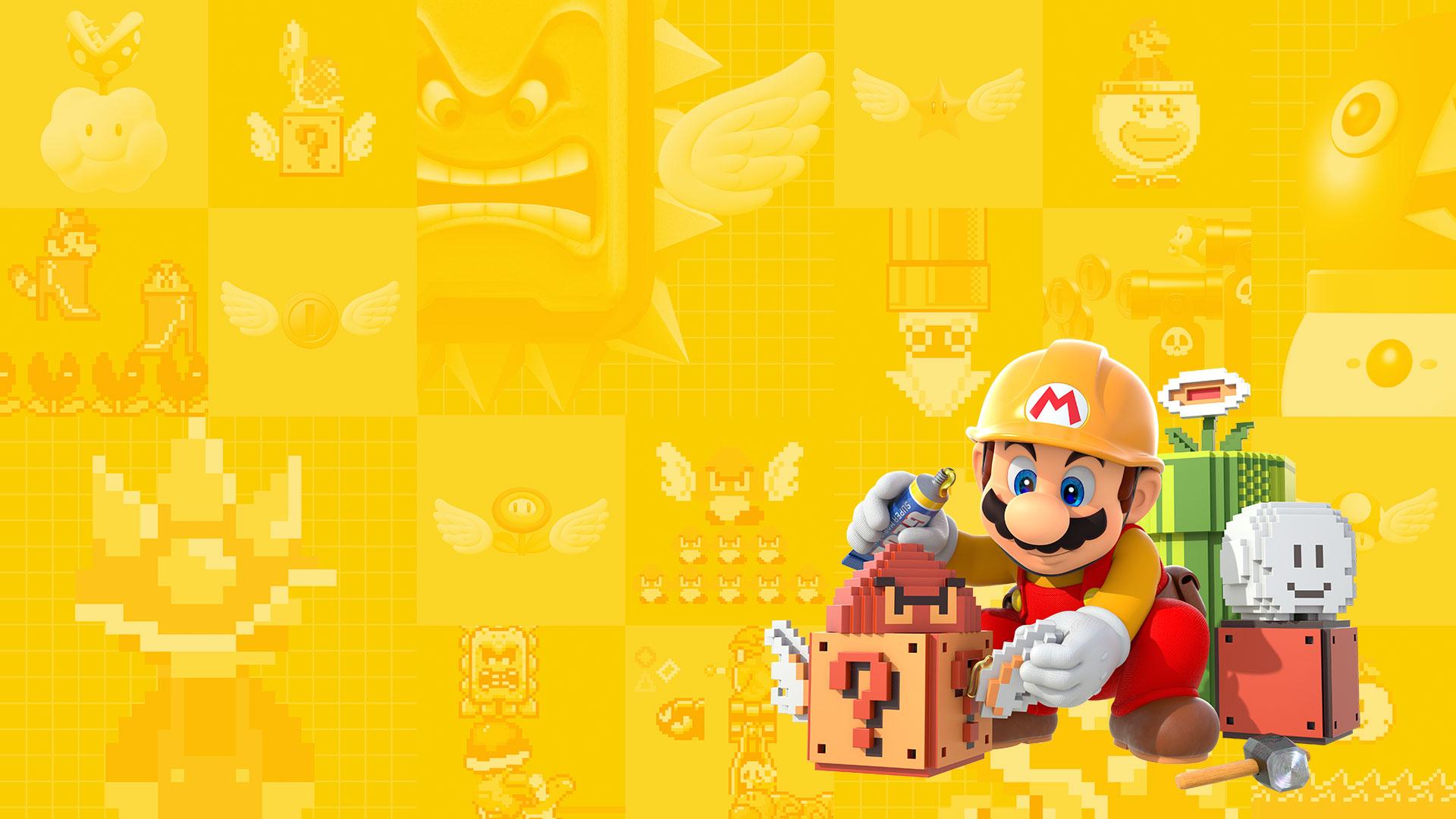 Squishy Super Mario Maker 1 : Super Mario Maker Is Offline - Gazette Review