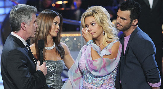 Kate Gosselin after being dissed by judges on Dancing With The Stars