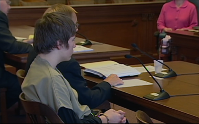 Brendan Dassey on trial for his role in Teresa Halbach's murder