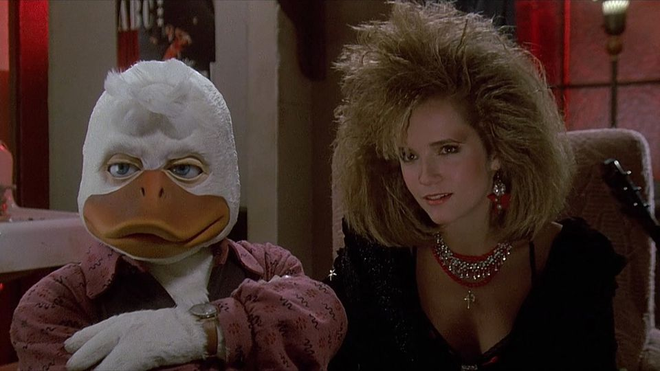 Howard the Duck is a very strange movie