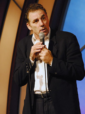 michael richards rant on stage