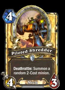 piloted shredder-hearthstone-neutral