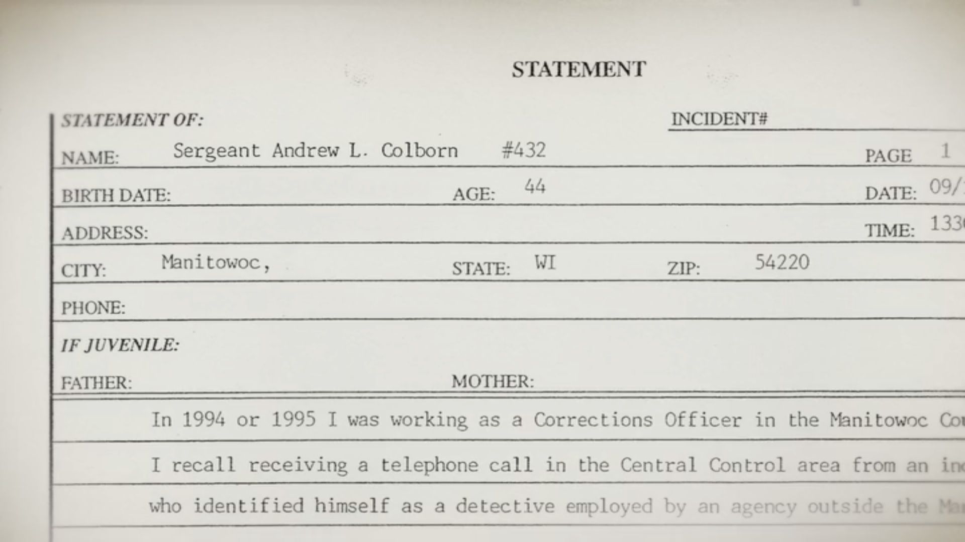 The report filed by Colborn