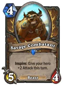 savage-combatant-inspire-keyword-hearthstone