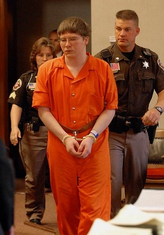 Brendan Dassey after being sentenced to life in prison