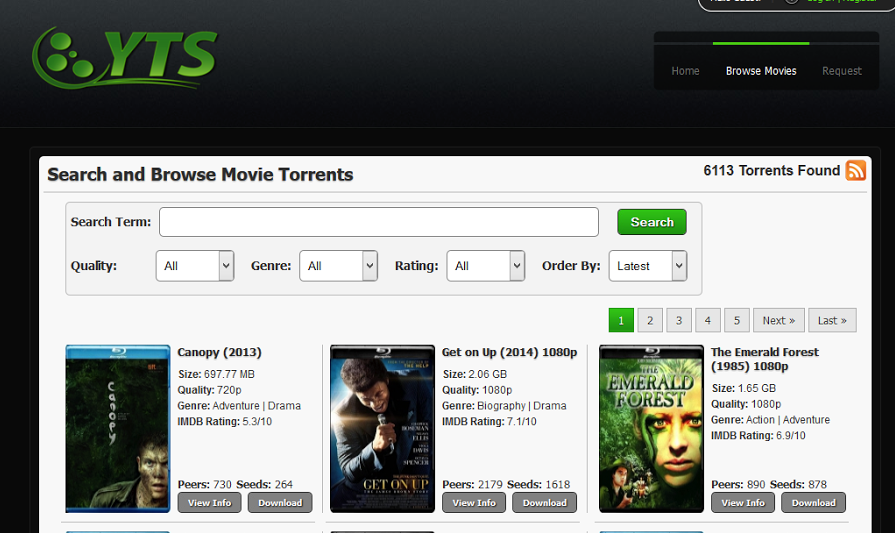 how to download yify movies using idm