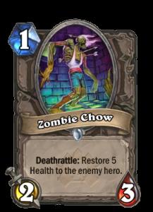zombie chow-hearthstone-anti aggro-tech