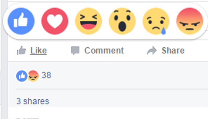 Facebook: Social media giant launches new Like button with five emoji's