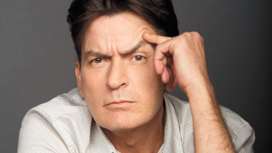 Charlie Sheen has, des...