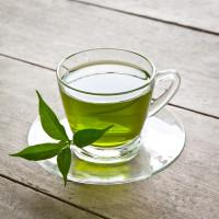 A nice Hot Green Tea.