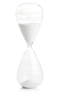 kiss-and-makeup-hour-glass-wedding-gift