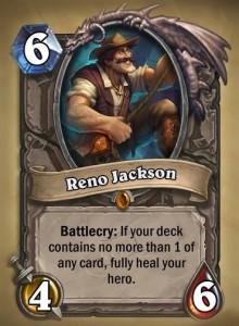 reno jackson-league-of-explorers-hearthstone