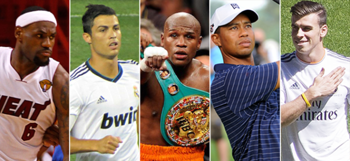 c7ed6b69a4ac Top 10 Richest Athletes in the World - 2018 Update - Gazette Review