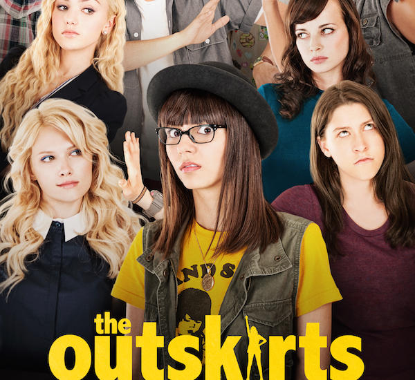 Victoria Justice (center) in the poster for The Outskirts