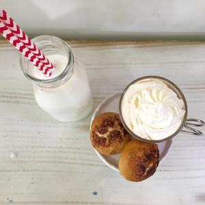 bantam bagels-shark tank-cookies and milk